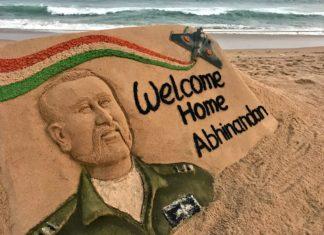 विंग कमांडर अभिनंदन वर्धमान घर वापसी पर आपका हार्दिक अभिनंदन है