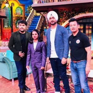 द कपिल शर्मा के शो पर विश्व चैंपियन दुती चंद